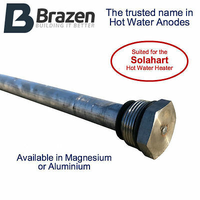 Solahart Hot Water Anode / Sacrificial Rods Magnesium or Aluminium Solar Heart