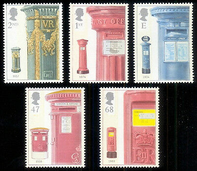 Great Britain 2002 Sc. #2076-2080 Mail Boxes MNH