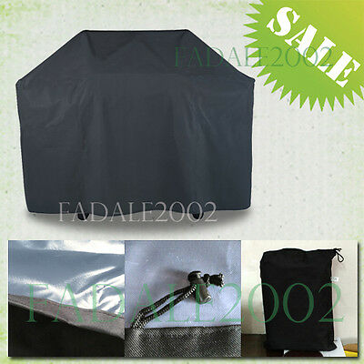 Waterproof BBQ Cover Outdoor Garden Barbeque Grill Storage FQ5AB