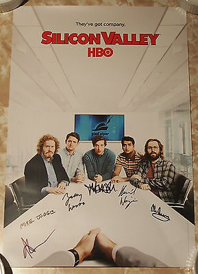 SDCC 2016 Comic Con HBO's 'SILICON VALLEY' Signed / Autographed Poster