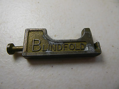"Vintage ""BLINDFOLD"" Needle Threader, made in Britain"