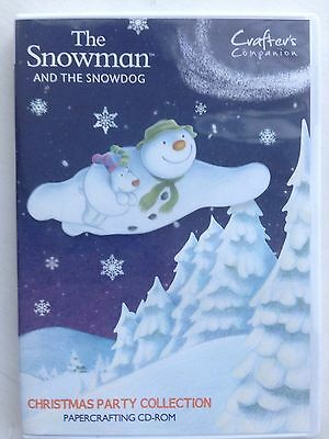 The Snowman And The Snow dog Christmas Party Cd Rom