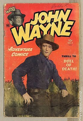 John Wayne Adventure Comics (1949) #8 GD- 1.8