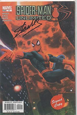 STAN LEE personally signed Marvel comic - SPIDERMAN UNLIMITED 2
