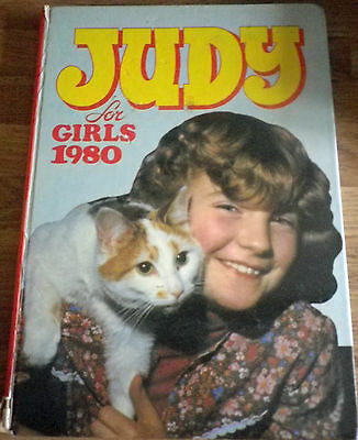 The JUDY ANNUAL Book for Girls 1980