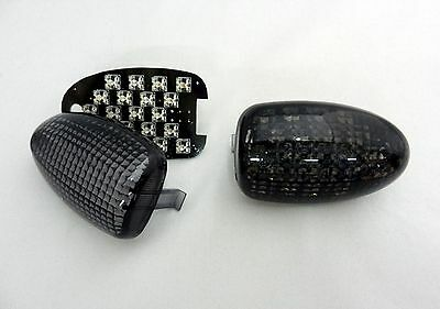 schwarze LED Blinker BMW R 1200 C CL auch Montauk smoked LED signals