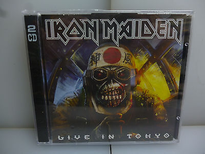 Iron Maiden-Live In Tokyo. Tokyo, Japan 2016.-2Cd In A Jewel Case-New.sealed.