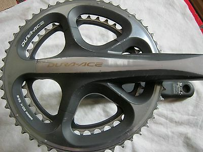 SHIMANO DURA ACE FC-7900 10-SPEED CRANK SET, 172.5mm, 52/39t, USED