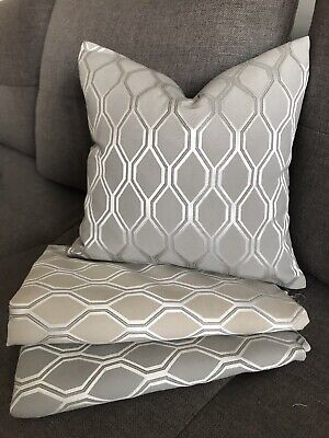 Elegant Bold Geometric Cushion Cover ALBANY JOHN LEWIS Fabric Reversible 16