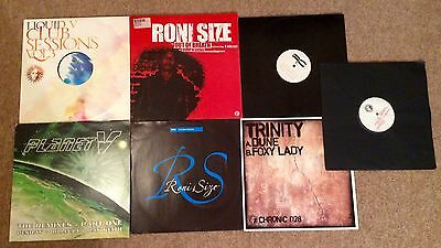 8 X Drum And Bass Jungle Record Bundle V Recordings Roni Size Dillinja Ray Keith