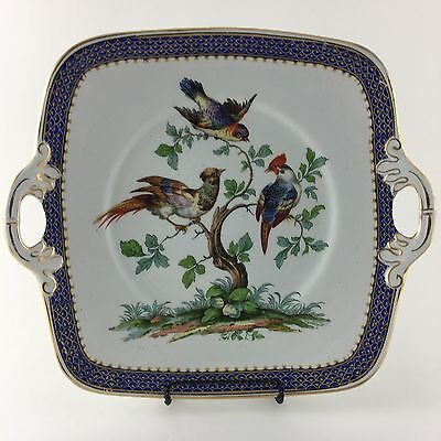 Stoke On Trent Grimwades England Decorative Bird Serving Plate
