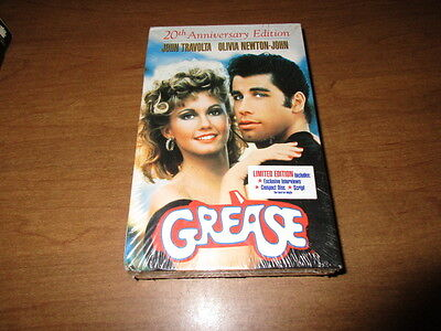 Grease (VHS, 1998, 20th Anniversary Edition) Brand NEW