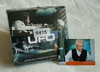 Unstoppable Cards UFO Factory Sealed Display Box & Promo Card