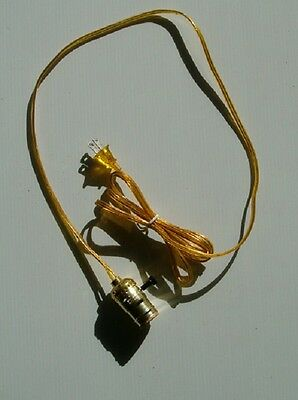 8 Foot Cord With Light Socket, Hanging Well Pump Light , Free Shipping