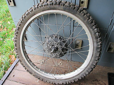 Honda Xl 500S 23 Inch Front Alloy Wheel And Tyre Brake And Spindle