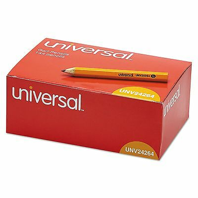 144-Pack Universal Golf Pew Pencils HB Yellow Half Short Mini Small Tiny Case #2