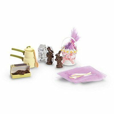 """American Girl KIT HOMEMADE SWEETS for 18"""" Dolls Kit's Bunny Chocolate NEW"""