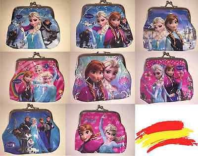 Disney Frozen Monedero con broche de metal
