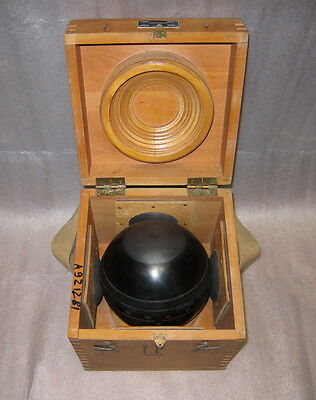SOVIET RUSSIAN MARINE GYRO-COMPASS  GYRO SPHERE  GYROSPHERE Made in USSR!