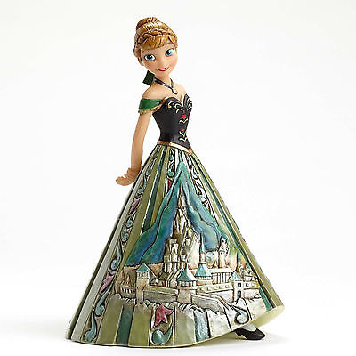 Anna Castle Dress Frozen Jim Shore Figurine