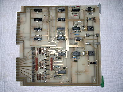 Vintage HP 3000 Computer PC Board, Heavy GOLD Plated Circuit Board.