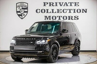 2013 Land Rover Range Rover  2013 Range Rover Supercharged Autobiography Rear Ent 1 Owner Clean Carfax