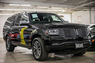 2016 Lincoln Navigator  2016 Lincoln Navigator L 1 Owner Clean Carfax 3rd Row Seats Super Clean