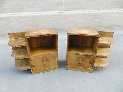 Chevets 1930 Art Déco nightstands side tables