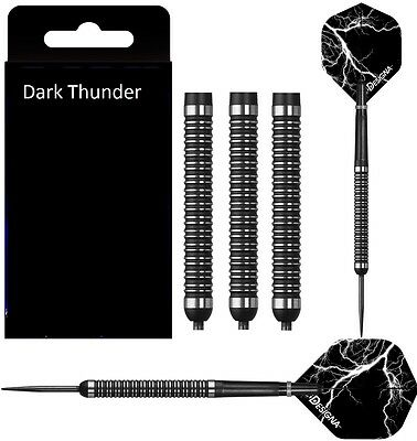 Designa Dark Thunder 90% Tungsten Darts Steel Tip - 22, 24, 26, 28, 30 Gram