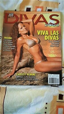 WWE 2005 Divas Magazine Swimsuit Issue