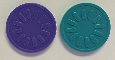 Plastic Tokens - Bag Of 100 -  Embossed Both Sides - Reward, School, Home