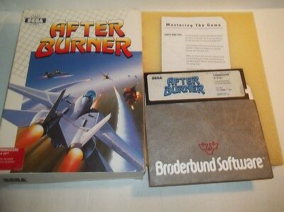 Commodore 64/128: AFTER BURNER - C64 CIB Tested & working
