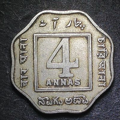India 1920(c) 4 Annas (George V) / 1859