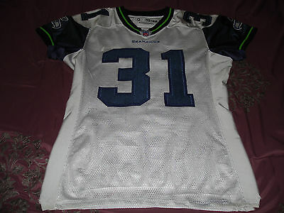 Seattle Seahawks 2005 Kelly Herndon Game Worn Used Jersey Super Bowl Season