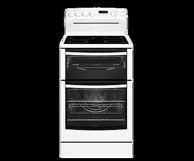 Westinghouse 54cm White Freestanding Cooker with Ceramic Hob - Model: WLE547WA