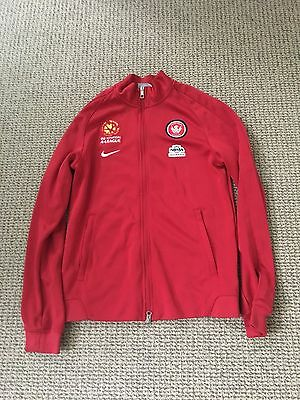 Western Sydney Wanderers Men's Authentic Training Jacket Size Mens Small