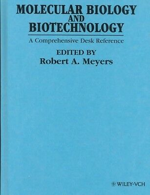 Molecular Biology and Biotechnology by Robert A. Meyers Hardcover Book (English)