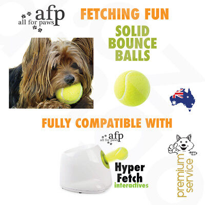 Pet Dog Cat Fetch Bounce Balls All For Paws AFP Hyper Fetch Mini Replacement