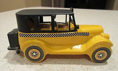 Vintage Avon 1926 Checker Cab Wild Country After Shave Bottle