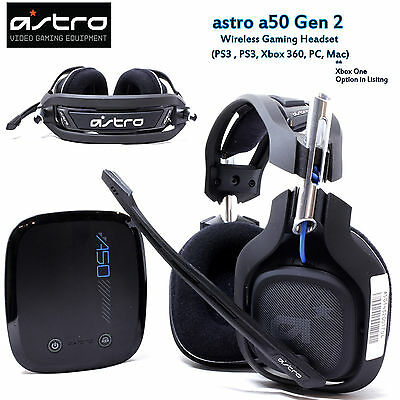 New ASTRO Gaming A50 Gen 2 for PS4 PS3 XBOX 360 PC Mac Xbox ONE Gaming Headset