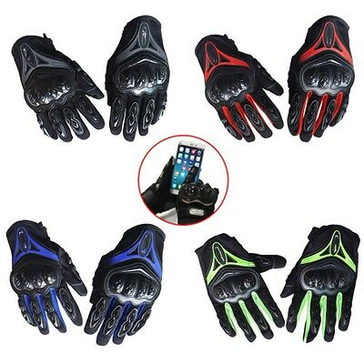 Full Finger Racing Motorcycle Gloves Cycling Bicycle MTB Scooter Riding Gloves