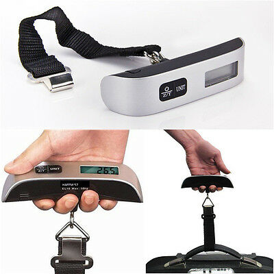 Electronic Luggage Scale With Built-In Backlight AL