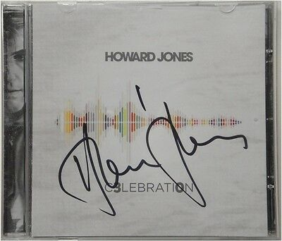 Howard Jones Hand Signed Autographed Cd Cover Celebration W/ COA Greek Theatre