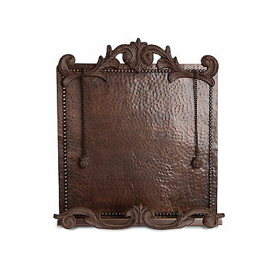 GG Collection Hammered Copper Cookbook Stand