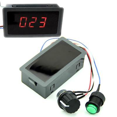 With Digital Display & Switch DC 6-30V 12V 24V 8A Motor PWM Speed Controller F&