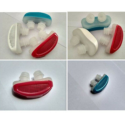 Stop Snoring Slient Sleeping Stuffy Nose Clip Breathing Apparatus Health Care