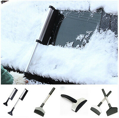Portable Window Cleaning Tool Ice Shovel Car Windshield Snow Removal Scraper
