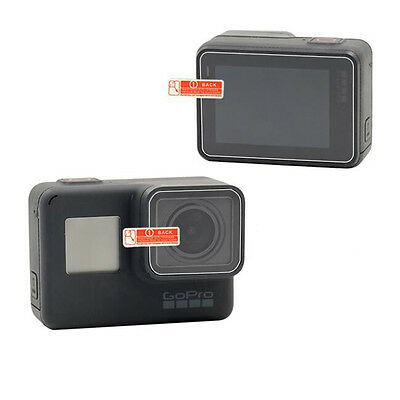 Toughened glass protective film screen/lens protector for Gopro Hero 5 Black