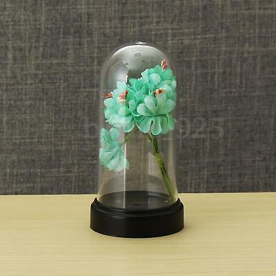 Acrylic Clear Box Bell for Product Show Toy Display Case Toys Dustproof 80x125mm