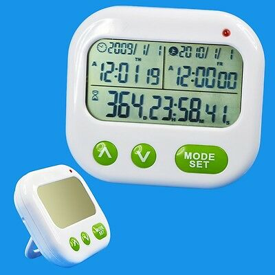 Digital Timer CountDown Up Alarm Clock for Work Office Family 1999 days